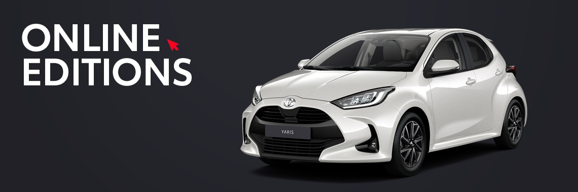 Yaris Private Lease Online Editions